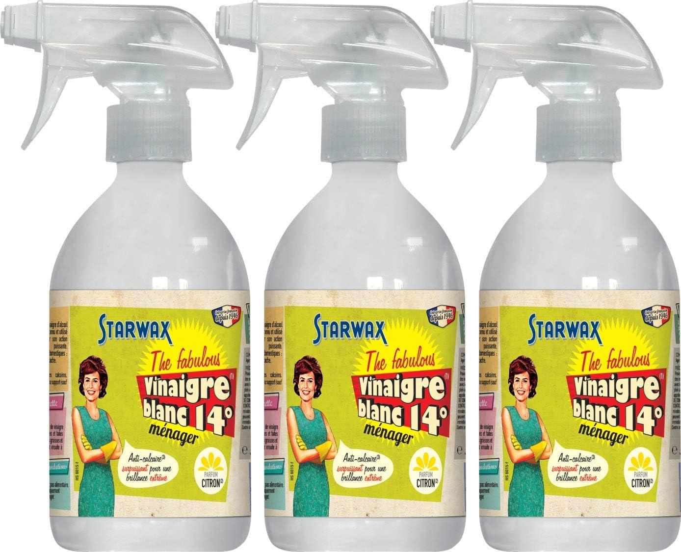 Starwax Fabulous 21021 vinagre blanco 14 ° – aroma limón – Juego ...
