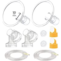 Maymom Breast Pump Kit for Medela Pump in Style Advanced Pumps; 2xTwo-iece Breastshields, 2 Valves, 4 Membranes, 2X…