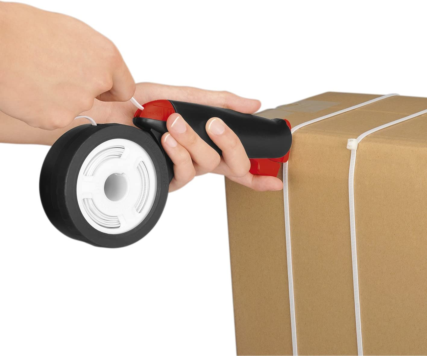 Verpackungshilfe Alles Bündler 2.0 Bündelpistole Verschnür-Gerät EASYMAXX NEU *