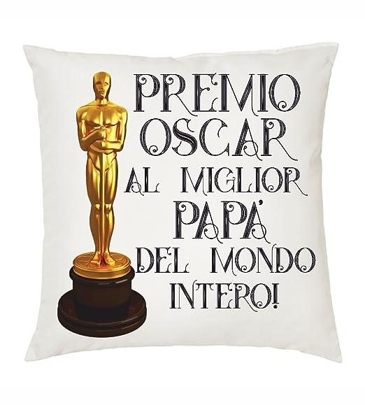 Cojín 40 x 40 texto Premio Oscar Miglio Papa idea regalo ...