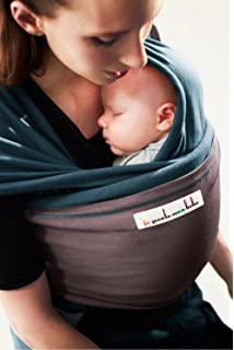 Je Porte Mon Bebe Basic Baby Sling Almost Black Amazon Co Uk Baby
