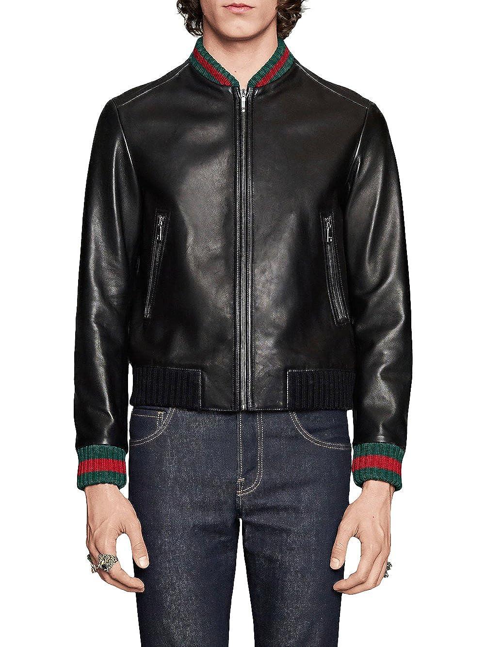 Gucci - Chaqueta - para Hombre Negro 48: Amazon.es: Ropa y ...