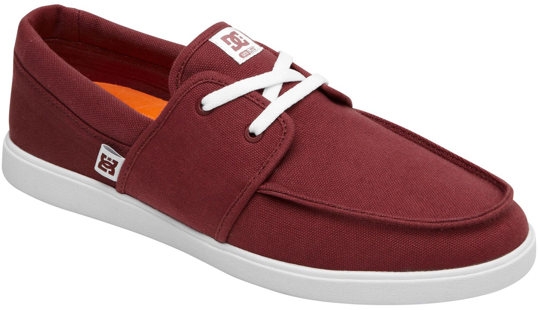 DC Men's Hampton Skate Shoe 11.5 D(M) US|Red/White