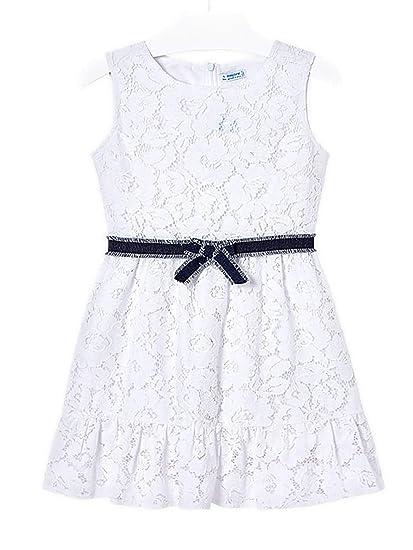 4d095d2c71 Mayoral - Lace Dress for Girls - 6941