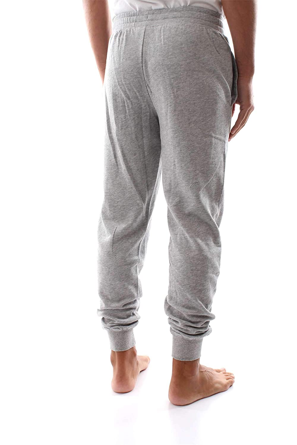 c03f3ea2bb8d6b Calvin Klein Mens Bold Accents Lounge Jogger - Grey Heather: Amazon.co.uk:  Clothing