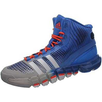 purchase cheap bb7a6 a8de2 ... adidas Adipure Crazyquick G66421 Mens Basketball bbots Basketball Shoes  Blue ...