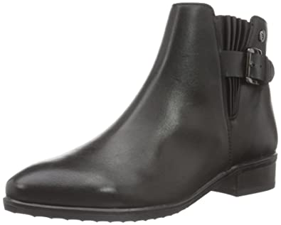 Womens 25323 Ankle Boots, Black Caprice