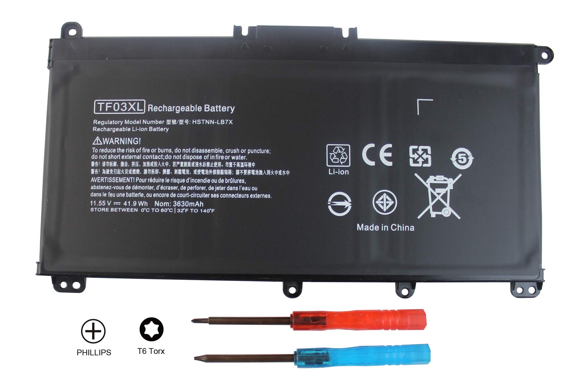Bateria Tf03xl Hp Pavilion 15-cc 15-cd 17-ar Series Hp 92004