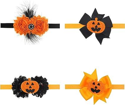 per bambine e neonate Txian 6 pezzi fasce per capelli con fiori
