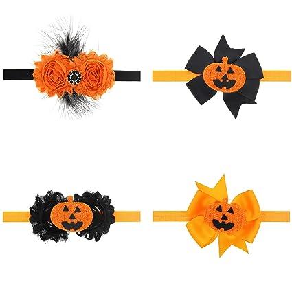 txian Halloween bebé accesorios para el pelo Rhinestone diadema y ...
