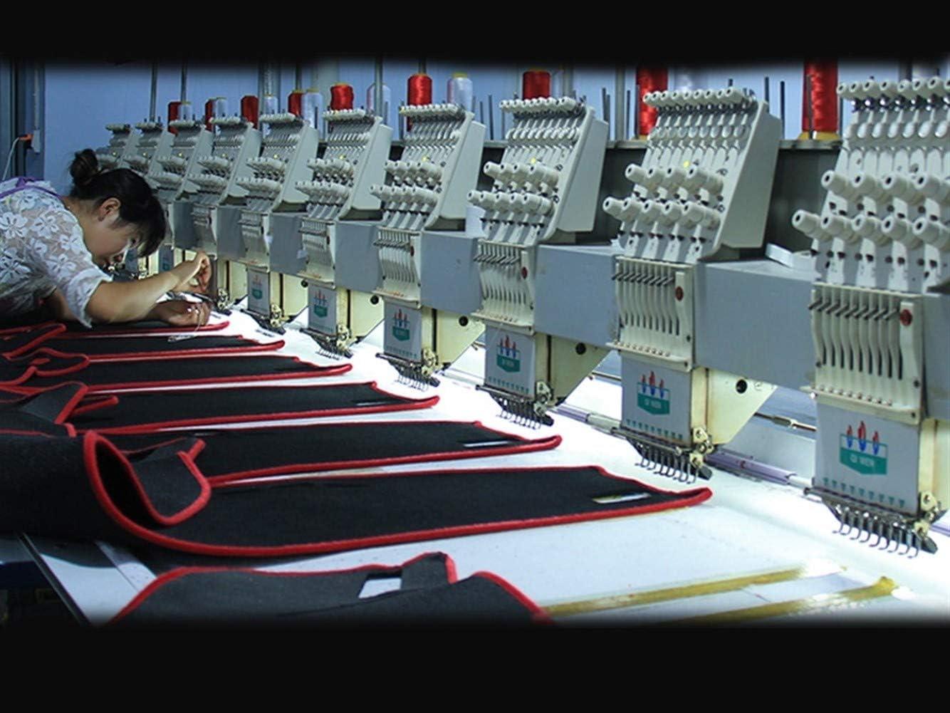 XIANGSHAN Tableau de Bord de Voiture Housses Tapis for Citroen C5 2007-2015 /à la Main Gauche dentra/înement Dashmat Pad Covers Dash Instrument Accessoires Plate-Forme Color : Black
