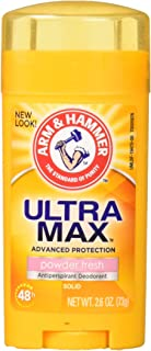 product image for Arm and Hammer Ultramax Deodorant and Antiperspirant - Powder Fresh, 2.60 Ounce (Pack of 4)