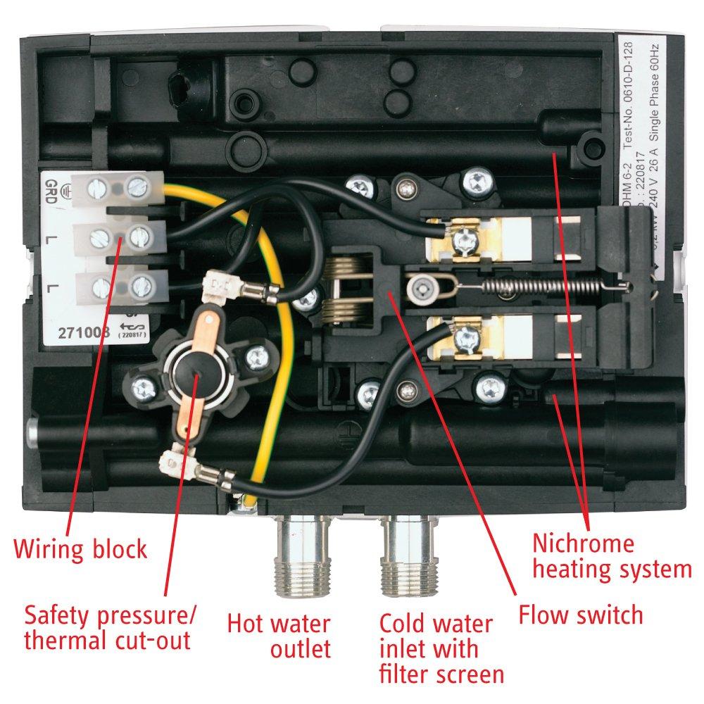 Stiebel Eltron Mini 3 Electric Tankless Water Heater 110 120 Volt 240 Home Wiring 30 Kw Under Sink Heaters