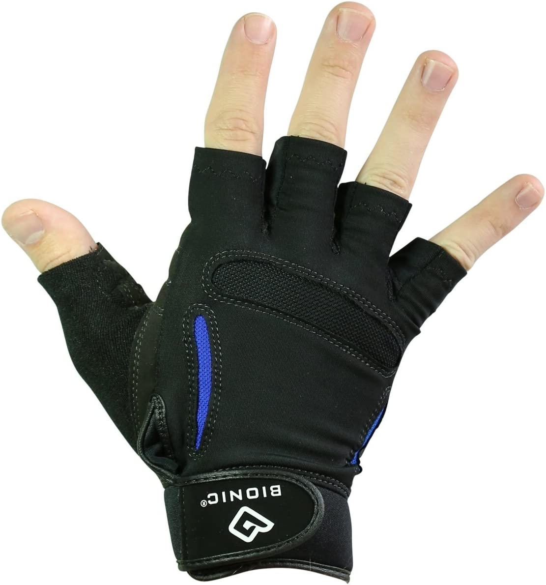 BIONIC Gloves – The Synthetic ReliefGrip (SRG) Fitness Gloves w/Patented Anatomical Relief Pad System (Pair)