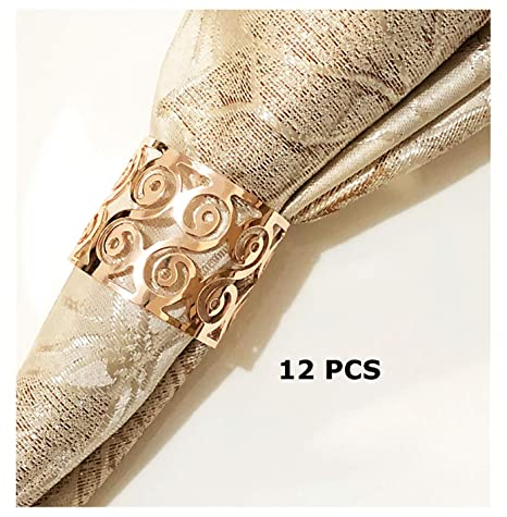 Silver Plated Angel Napkin Rings Set Of 4 a Nice Gift Dinner Party