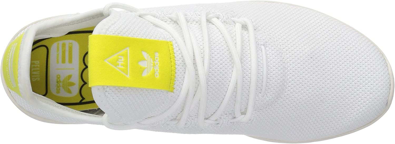 adidas Men's Pharrell Williams HU Tennis Shoe White/White/Chalk White