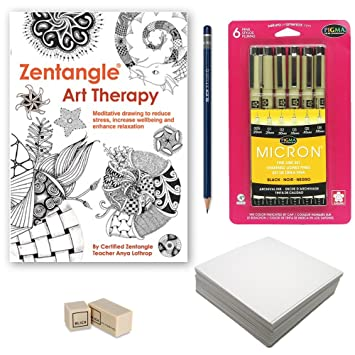 zentangle drawing starter kit advanced bundle of 5 items