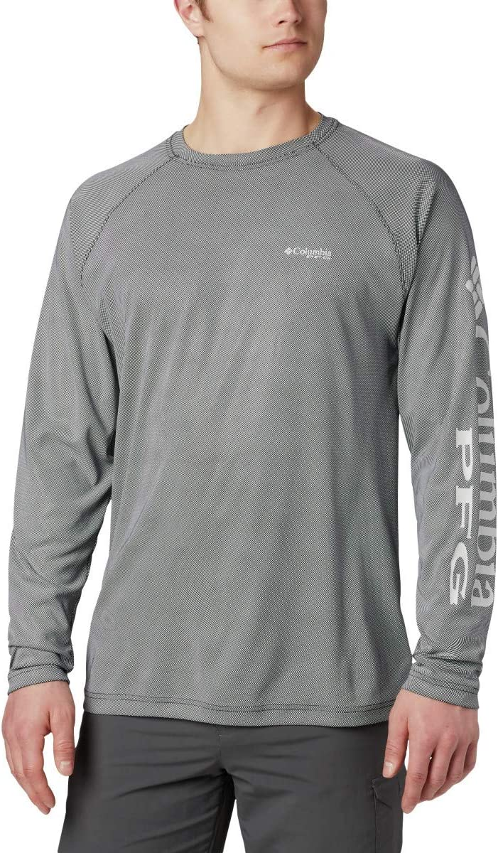 Columbia Terminal DeflectorTM Camisa de Manga Larga para Hombre, Hombre, 183978, Negro, Gris frío, Extra-Large: Amazon.es: Deportes y aire libre