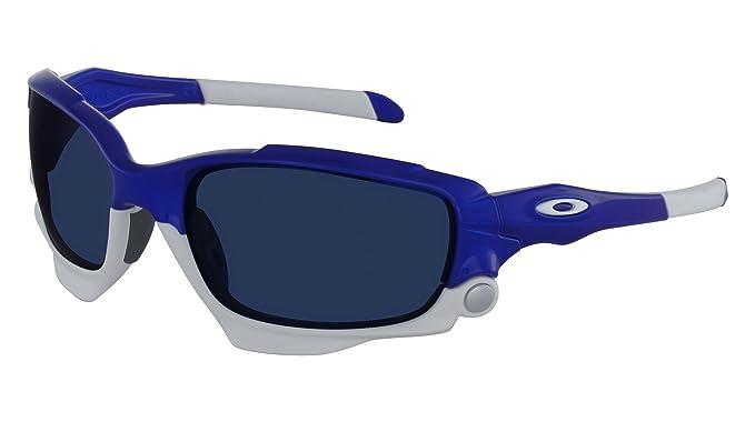 f3f66f032f8d3 Lunettes de soleil Oakley Jawbone Bleu Blanc polarisant  Amazon.fr ...