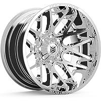 Dropstars 654V Deep Concave 20x10 6x135/6x139.7 -25mm PVD Chrome Wheel Rim