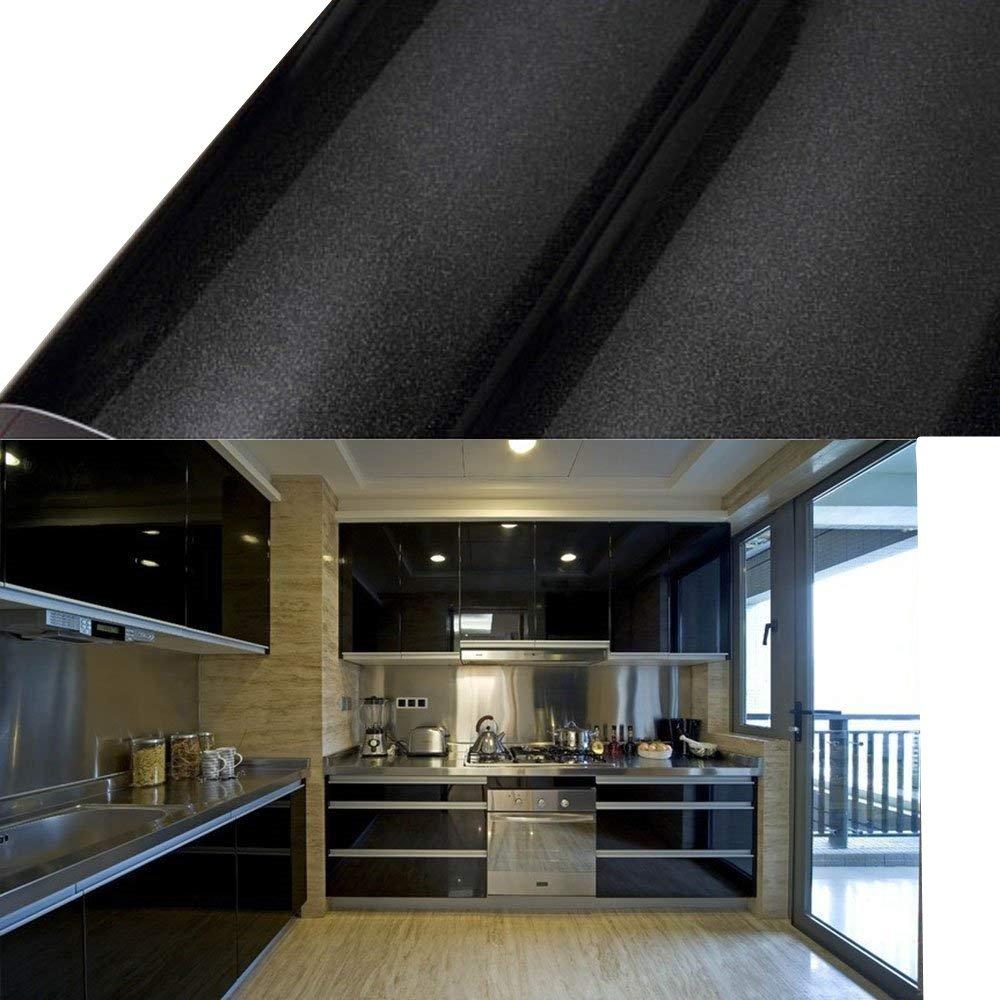 10m X 0 61m Pvc Black Sticky Self Adhesi Buy Online In Belize At Desertcart