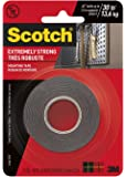 3M Scotch Extreme Mounting Tape, 1' by 60-Inch, Black