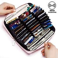 Dlife RFID Carte de Crédit Titulaire de Automatique Pop-up en Aluminium Blocage Étui PU Cuir Entreprise Slim Mini Porte-monnaie