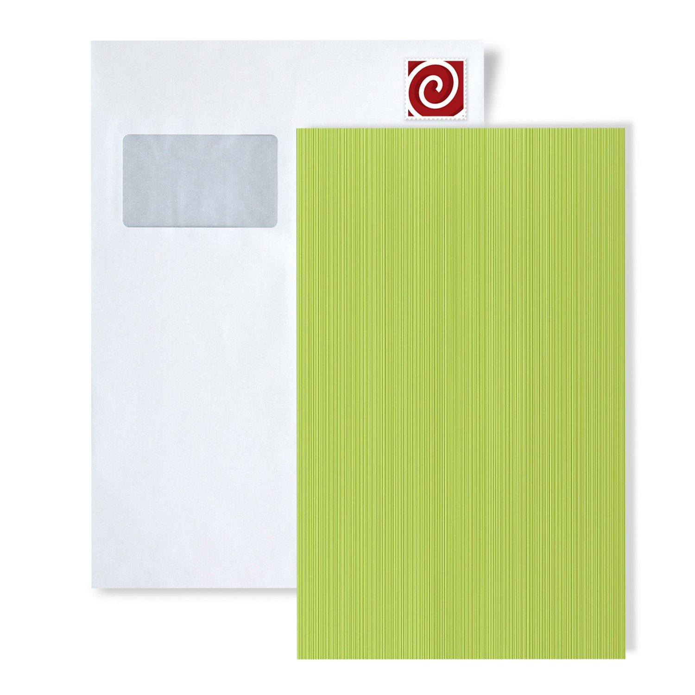 Papel pintado liso con rayas y acentos met/álicos MUESTRA de papel pintado EDEM 598-serie 598-XX:S-598-26