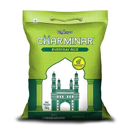 Kohinoor Charminar Everyday Rice, 5 kg