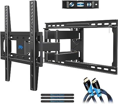 Full Motion TV Wall Mount VESA Bracket 32 46 50 55 inch LED LCD Flat Screen