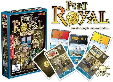 Ediciones MasQueoca - Port Royal Expansion Hora de cumplir unos contratos (Español)(Catalán): Amazon.es: Juguetes y juegos