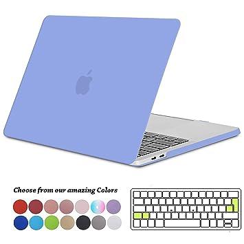 Tecool Funda MacBook Pro 13 2016/2017/ 2018/2019, Plástico Dura Case Carcasa + Tapa del Teclado para MacBook Pro 13.3 Pulgadas con/sin Touch Bar ...