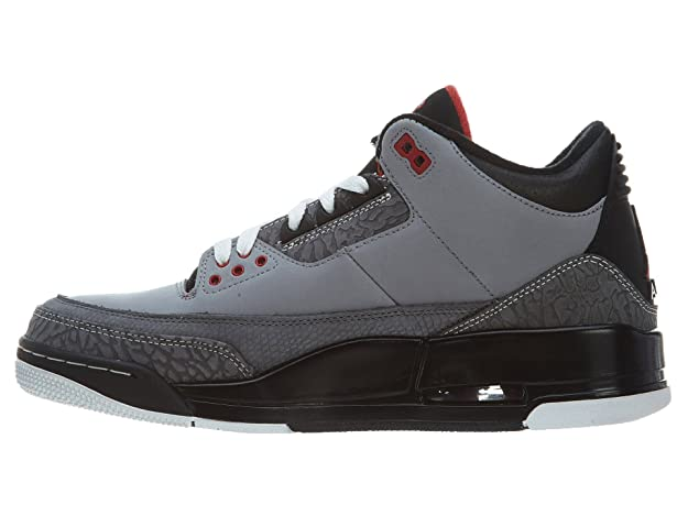 sale retailer 4c579 6a234 Nike Air Jordan 3 Retro BG Junior Trainers  Amazon.co.uk  Shoes   Bags