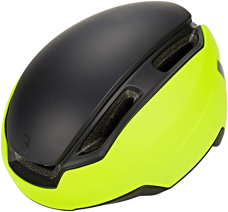 BBB Indra Speed 45 BHE-56 Helm matt neon gelb Kopfumfang L 2019 Fahrradhelm