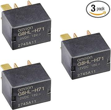 3 Pack Genuine 39794-SDA-A05 Power Relay Assembly for 2003-2014 Accord 2006-2014 Civic 2007-2014 Acura MDX CR-V