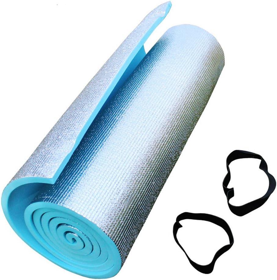 180 x 50 cm Tapis de Yoga et Fitness Gymnastique Abdominaux Camping Stretching Id/éal pour Les Exercices au Sol Ultra Slim 6mm Pilates