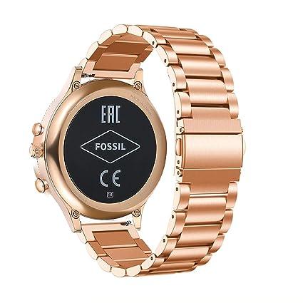 Amazon.com: Abanen for Fossil Q Venture - Correa para reloj ...