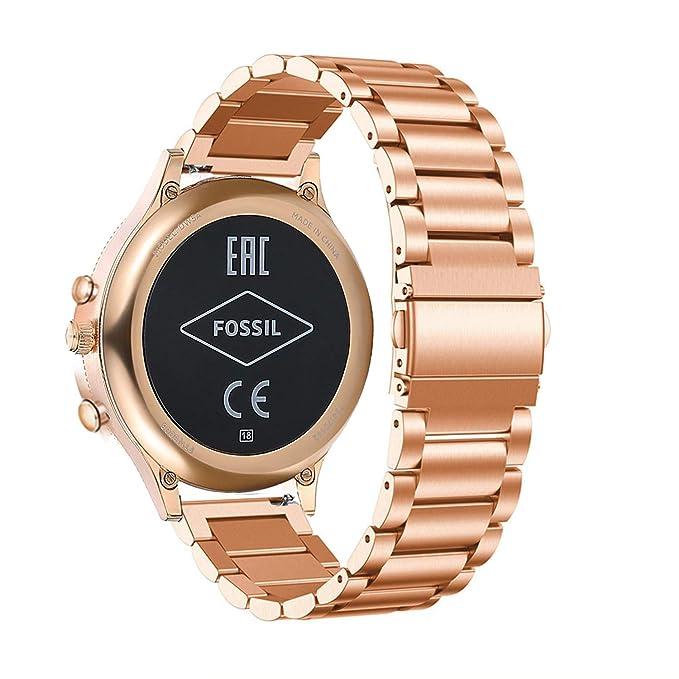 Abanen para Fossil Q Venture Reloj Banda, 18 mm clásico ...