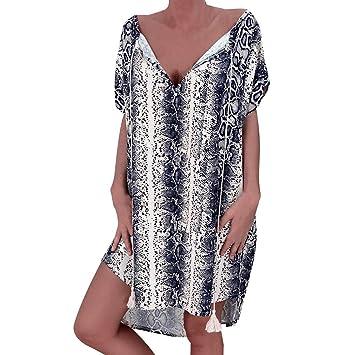 7d8fe0987aff vestido playa mujer Tallas Grandes,Wave Camisolas y Pareos Mujer ...