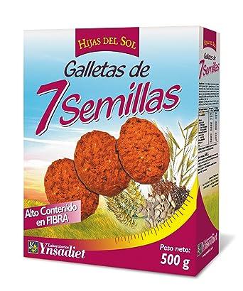 Hijas Del Sol Galletas de 7 Semillas - 500 gr
