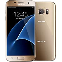 Samsung Galaxy S7 G930v 32GB Verizon Wireless CDMA 4G LTE Smartphone w/12MP Camera (Certified Refurbished) (Gold)