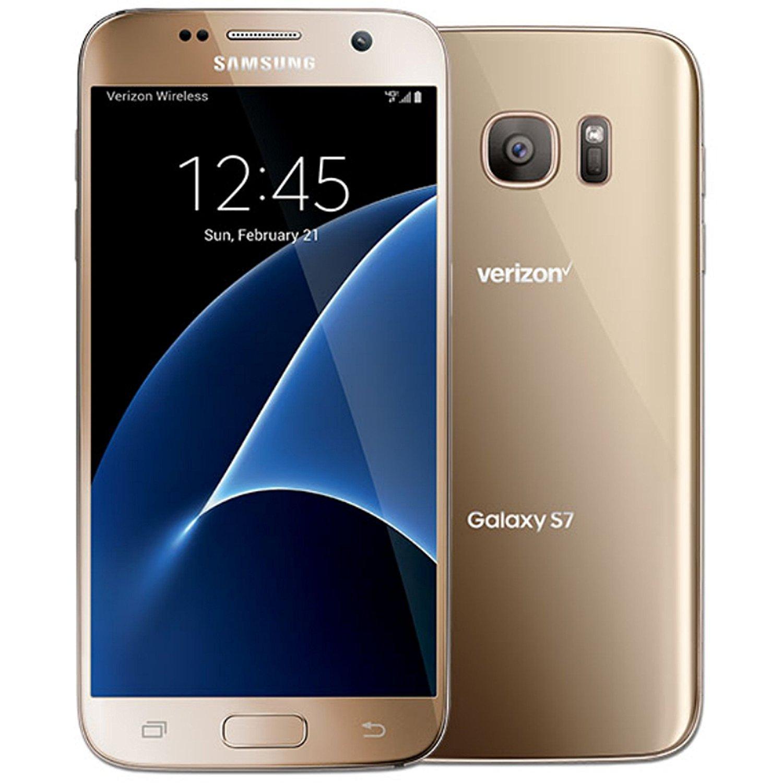 Samsung Galaxy S7 G930v 32GB Verizon Wireless CDMA 4G LTE Smartphone w/ 12MP Camera - Black Onyx (Certified Refurbished)