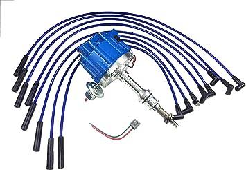 A-Team Performance 351C Big Block Ford 65K COIL HEI Complete Distributor 351C 351M 400M 429 460 1-Wire Instillation