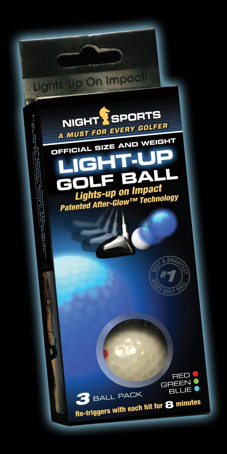 Night Sports USA Light Up Golf Ball (3-Pack)