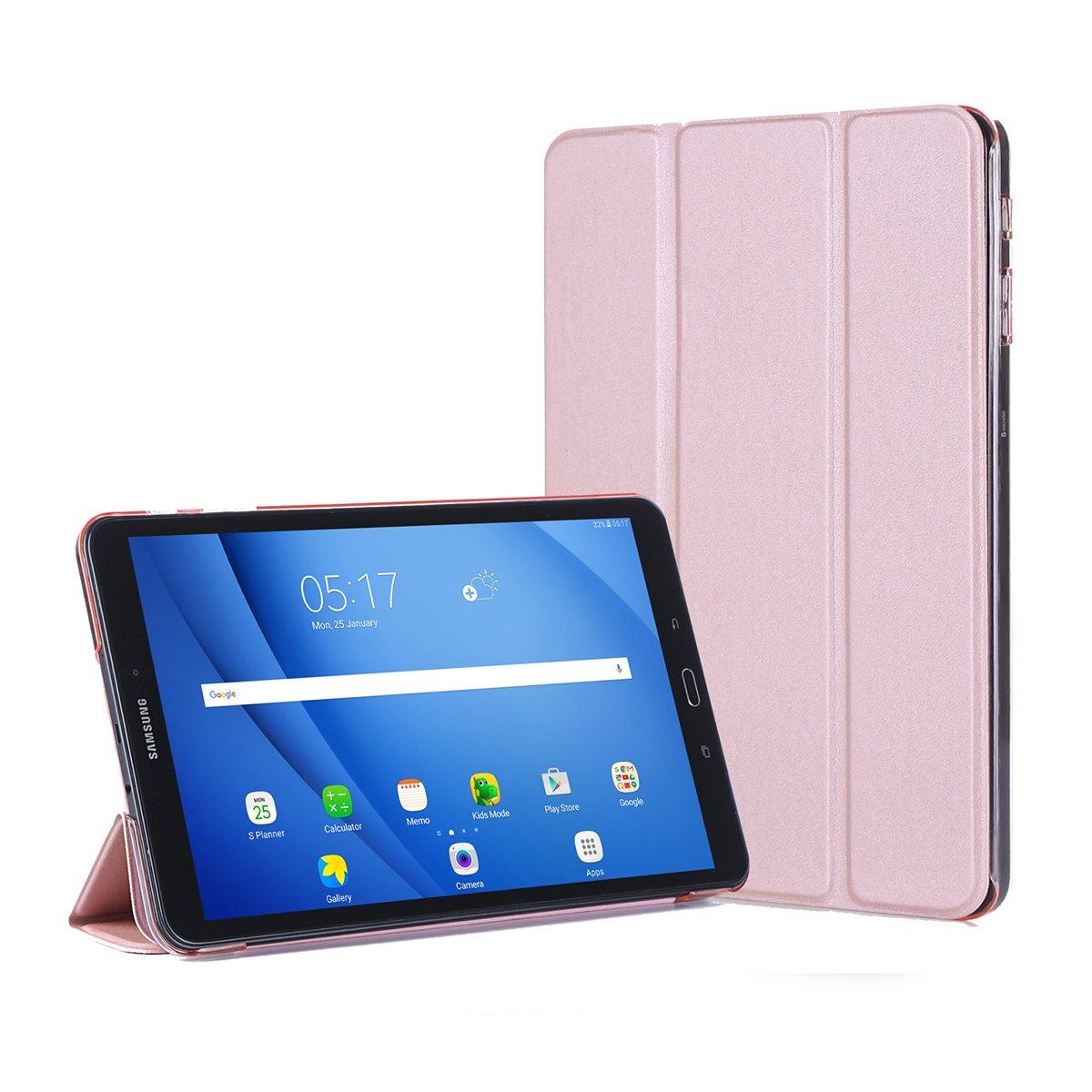 Samsung Galaxy Tab A 10.1 SM-T580 Women PU Leather Wallet Case Flip  Kickstand Function Ultra Folio Flip Slim Card Holder Case Cover Leather Case  Samsung ... c743f9ce19
