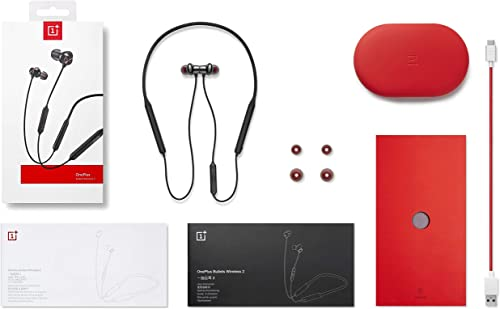 OnePlus Bullets Wireless 2 Earphone Sport Magnetic in-Ear Headset