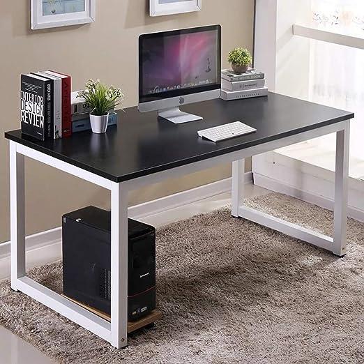 Huisen Furniture Mesa de Escritorio para Ordenador de Oficina ...