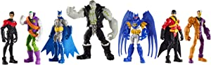DC Comics Batman Gotham City Tunnel Takedown Figures 7-Pack
