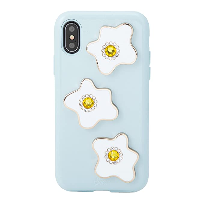 finest selection 47b25 2995d iPhone Xs, iPhone X, Sonix EGGY Patent Leather Phone Case with Swarovski  Crystal Embellishments [Drop Test Certified] Sonix Women's Patent Leather  ...
