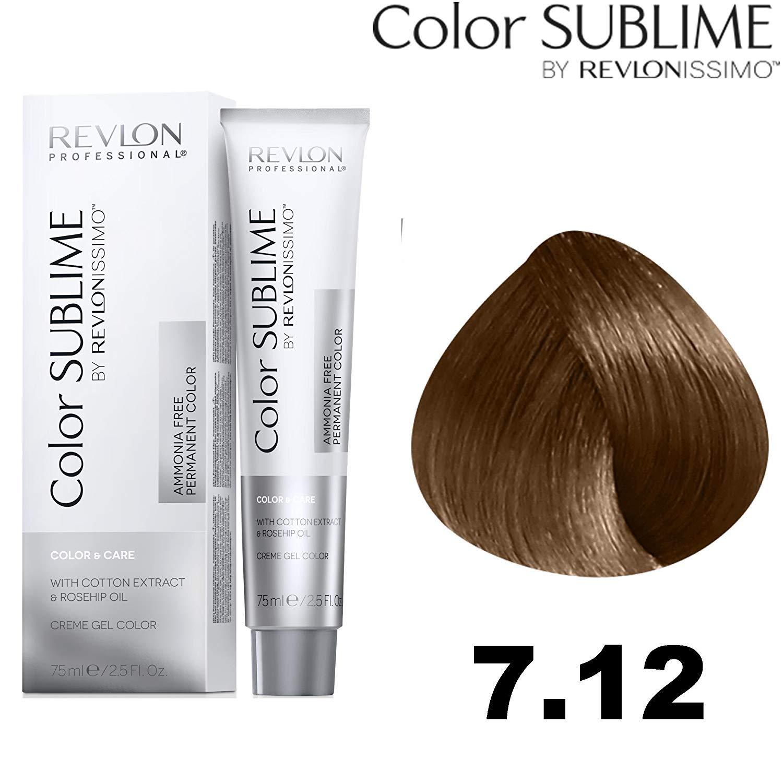 Revlonissimo Color sublime 75 ml, Color 7.12: Amazon.es